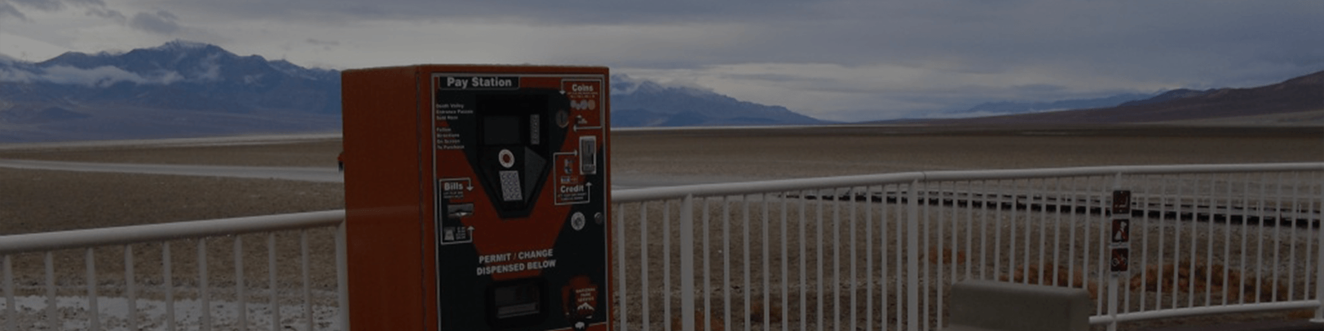 VenTek International Automated Fee Machine for National Parks